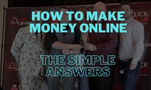 make money online best way